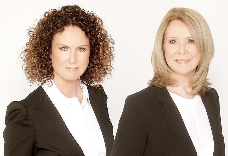 Christine Hoffstetter und Gabi Reiter-Meyer